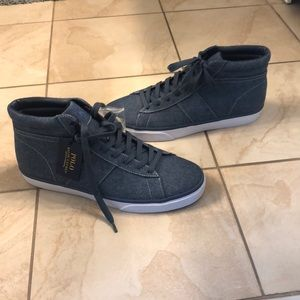 Men's Polo Ralph Lauren High Top Sneakers